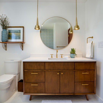 Mid-Century Bathroom in El Segundo, CA.