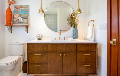 Room of the Day: Bathroom With Midcentury Modern Flair