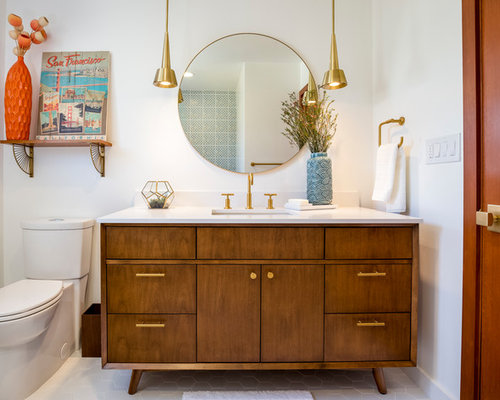 Best Midcentury Bathroom Design Ideas Remodel Pictures Houzz