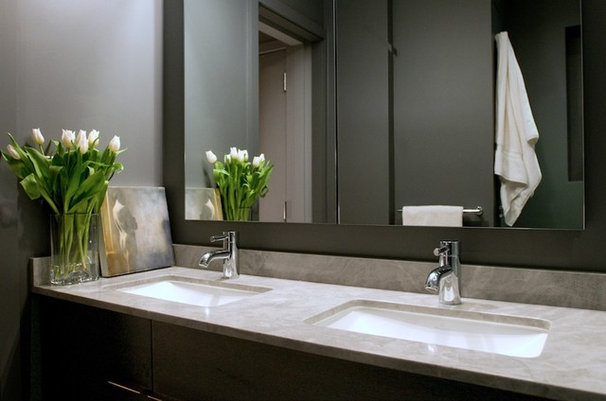 Modern Bathroom by Village West Design