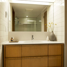 Midcentury Bathroom by SHED Architecture & Design