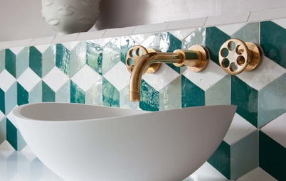 The Tile Style That'll Lighten Up Your Bathroom Beautifully