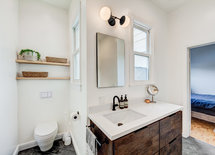 The vanity is lovely, where can I find it? As well, the countertop.