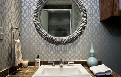 Expert Talk: Wallpaper Gains Steam in the Bathroom