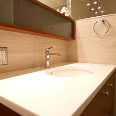 Modern Bathroom by Fraley and Company