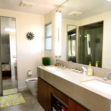 Midcentury Bathroom by Urbanism Designs