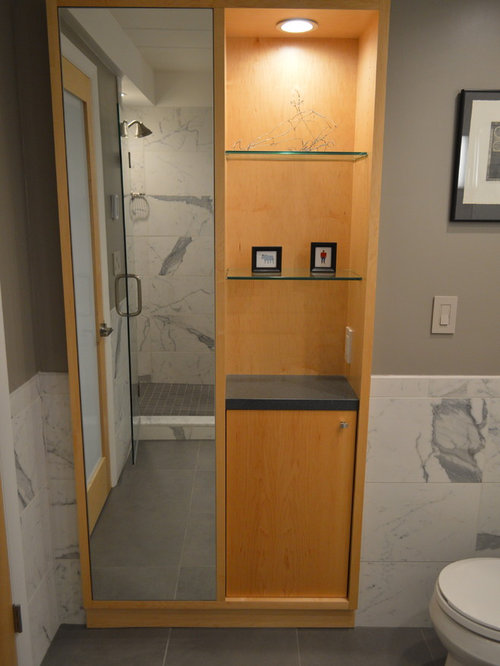Midcentury Cincinnati Bathroom Design Ideas Remodels Photos