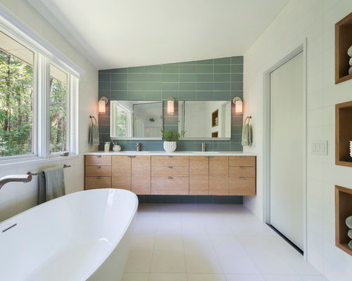 Vanity Wall Home Design Ideas Pictures Remodel And Decor