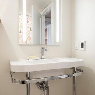 Mid-Century Modern Inspired Bathrooms