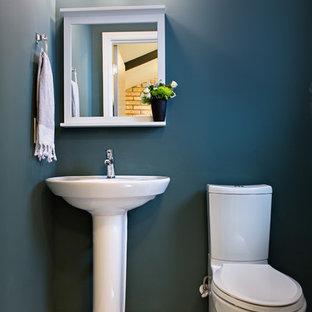 75 Most Popular Midcentury Modern Bathroom With A Pedestal
