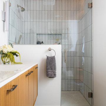 Mid-Century Modern Master Bath