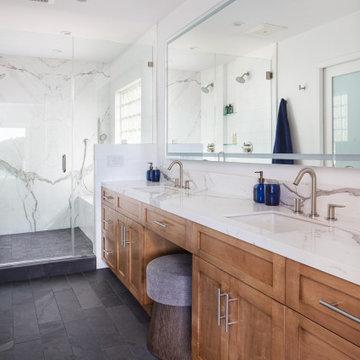 Mid century modern meets Transitional design in La Canada Flintridge