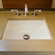 Modern Bathroom by Koch Architects, Inc.  Joanne Koch