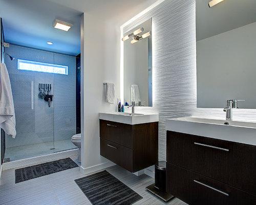 Contemporary grand rapids bathroom design ideas remodels for Bathroom cabinets grand rapids mi