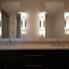 Midcentury Bathroom by Village Homes