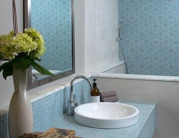 Mid Century Modernized Master Bathroom