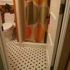 Modern Bathroom by Haleigh Stallworth