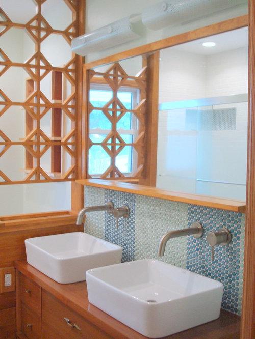 Midcentury Bathroom Remodel Maui Bath Design Ideas, Pictures, Remodel & Decor
