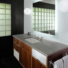 Midcentury Bathroom by Axiom Design Build
