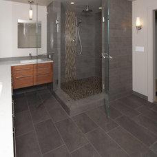 Contemporary Bathroom by Beley Design, pllc
