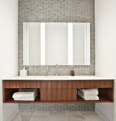 contemporary bathroom by Vinci | Hamp Architects