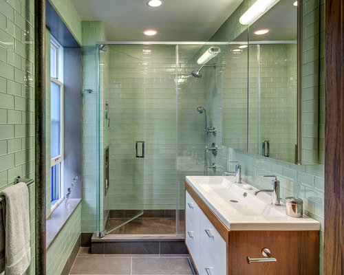 Glass Tile Flooring Ideas, Pictures, Remodel and Decor