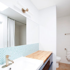 Midcentury Bathroom by The Ranch Mine