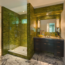 Midcentury Bathroom by Maison Inc.