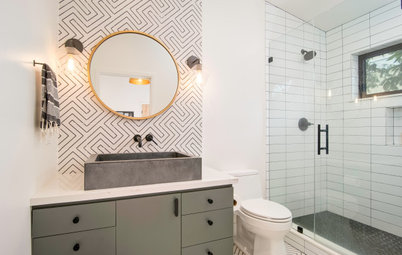 How Much of Your Bathroom Should You Tile?