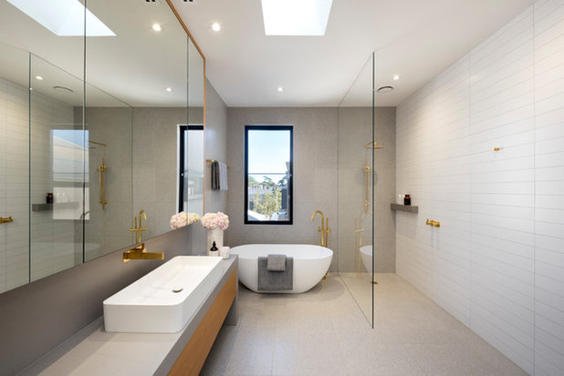 Contemporary Bathroom by Karl Degering & Associates