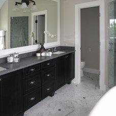 Traditional Bathroom by Fieldcrest Builders Inc