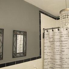 Contemporary Bathroom Midtown Apt. Bathroom