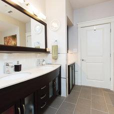 Modern Bathroom by Live Oak Construction Group, LLC