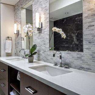 75 mid-sized modern bathroom design ideas & remodeling