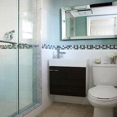 Modern Bathroom by SC Home