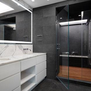 Inspiration för ett stort funkis en-suite badrum aa368e0cf6499