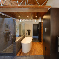 Contemporary Bathroom by Bruns Architecture