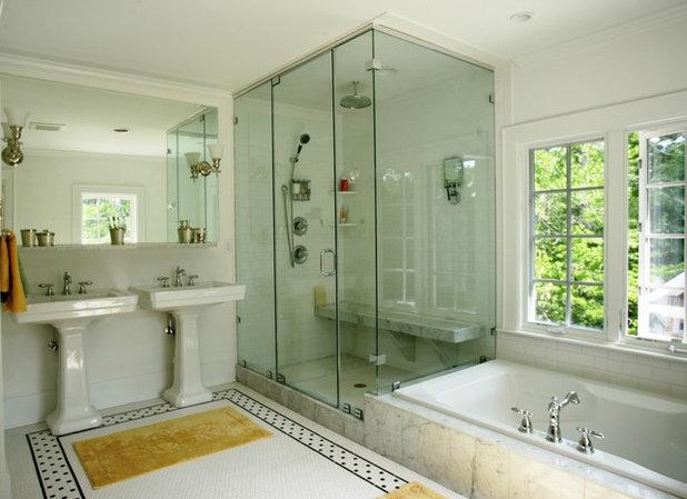 Traditional Bathroom by PBC Design + Build