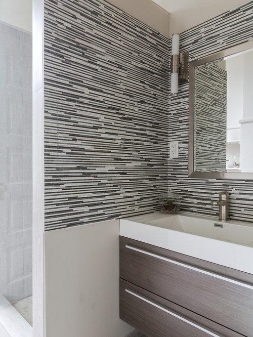 Bathroom design ideas renovations photos with lino for Modern linoleum flooring