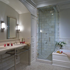 Traditional Bathroom by Studio Dearborn