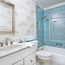 Tropical Bathroom by Hurst Total Home, Inc.