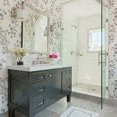 Beach Style Bathroom by Cushman Design Group