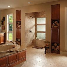 Traditional Bathroom by Milgard Windows & Doors