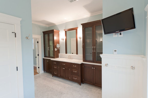 Traditional Bathroom by Mill Cabinet Shop