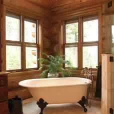Traditional Bathroom by Inside Eye Design