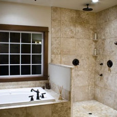 Traditional Bathroom by North River Homes LLC