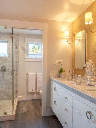 Traditional Bathroom by Michael Hospelt Photography