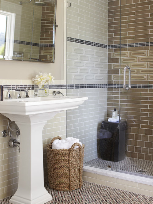 Ceramic Tile Shower | Houzz