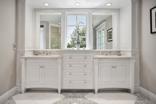 Traditional Bathroom by KCS, Inc.