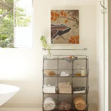 Contemporary Bathroom by Dehn Bloom Design
